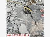 山西太谷道路维修扩建破石头的机器-一天多少方