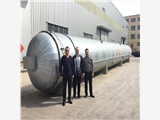鲁贯通厂家生产胶管硫化罐 长胶管硫化罐 免费上门安装调试