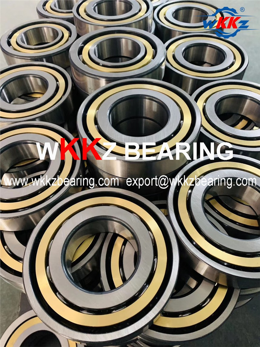 QJ324N2MA Angular contact ball bearing,WKKZ BEARING