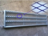 平台脚踏金属扩张网,钢板网带选型