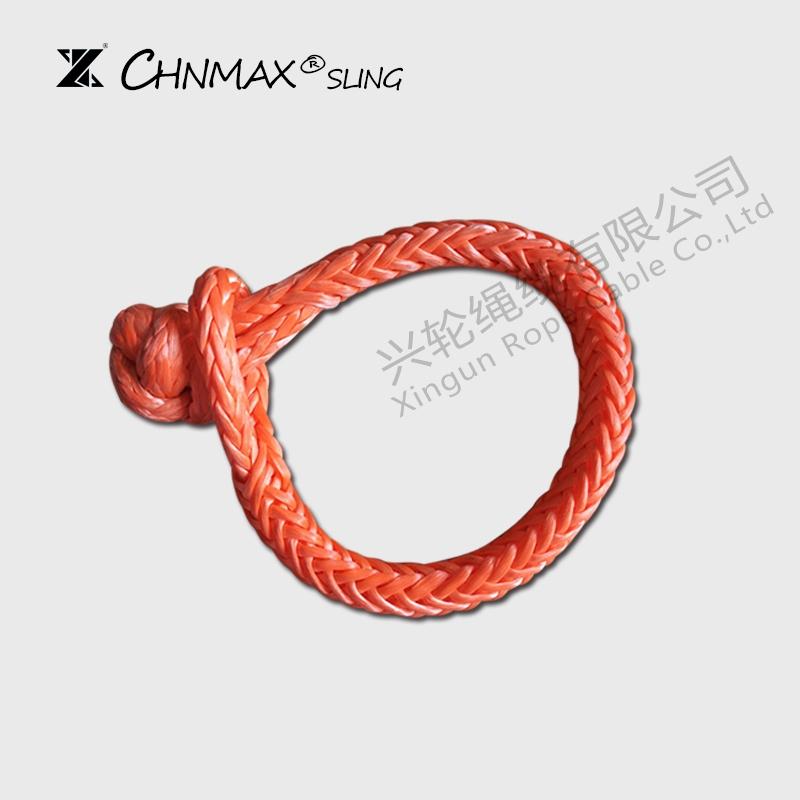兴轮CHNMAX软卸扣 U型钩拖车钩疙瘩绳越野救援高分子绳