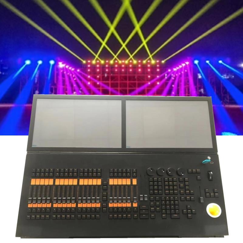 双屏触摸MA控台 炫展灯光MA1演出功能强大灯光控制台