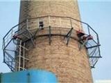 烟囱爬梯刷漆除锈