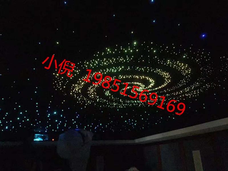 天津东丽区家庭吊顶星空顶KTVLED灯光私人定制