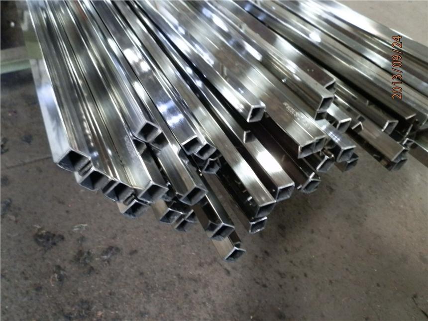 河北衡水市304不锈钢异形管椭圆管D型管六角管槽管