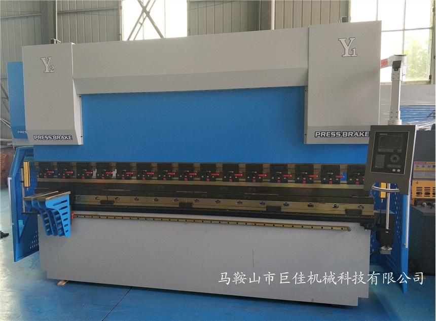 现行电液伺服数控125吨4米折弯机价格