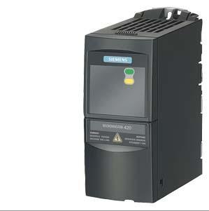 西门子三相交流 6SE6420-2UC11-2AA1  420 无滤波器 变频器