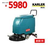 张家口手推式洗地机KL520批发团购 油污水渍清洗吸干拖地机