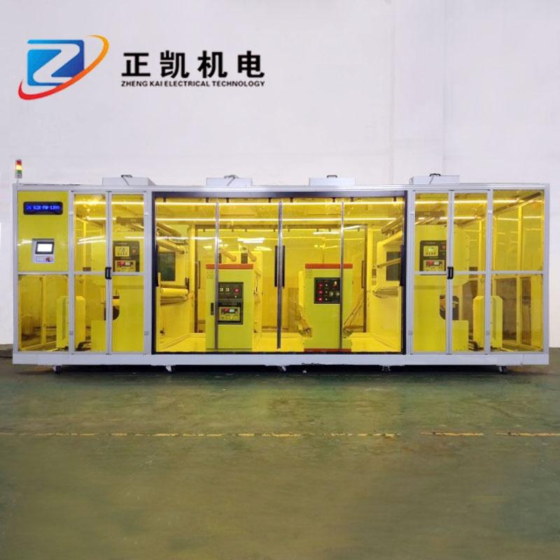 双面裁切机PVC覆膜裁切机ZK-R2R-FM-1300卷对卷自动覆膜机