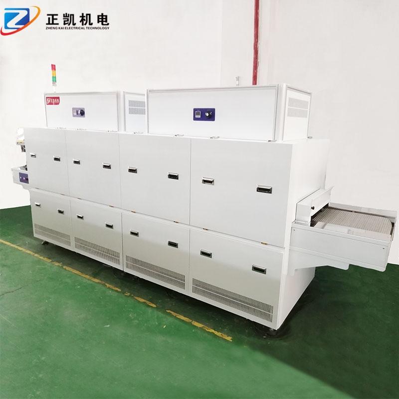 光氧改质设备紫外线转制表面粘尘机ZKUV-3090硅胶改制UV机