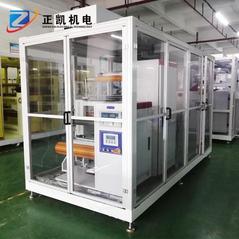 卷对卷双面自动压干膜机-ZK-R2R-FM-500覆膜裁切黄光制程设备