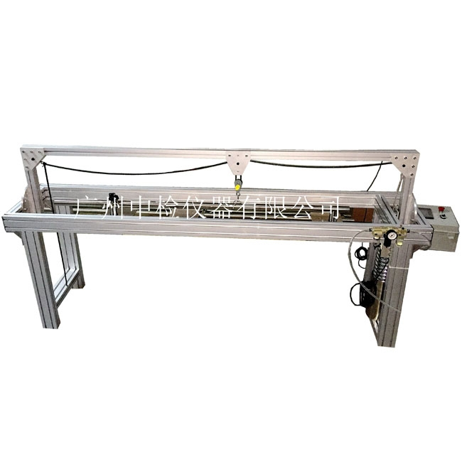 Pull handles durability test bench