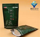 杭州茶叶镀铝自立包装袋子销售价格,熠彩厂家定做质量好的茶叶包装袋