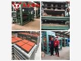 天匠机械QTY3-15彩砖机,路面面包砖机,广场透水砖生产线
