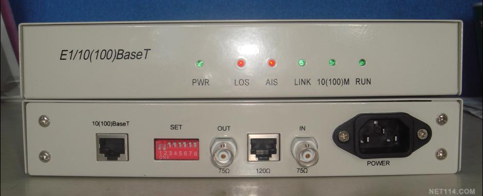 E1转以太网,G.703转以太网,BNC转RJ45